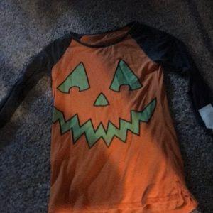 Pumpkin shirt xs